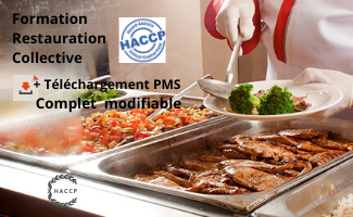 HACCP Certification Restauration Collective + P.M.S (56 fiches)